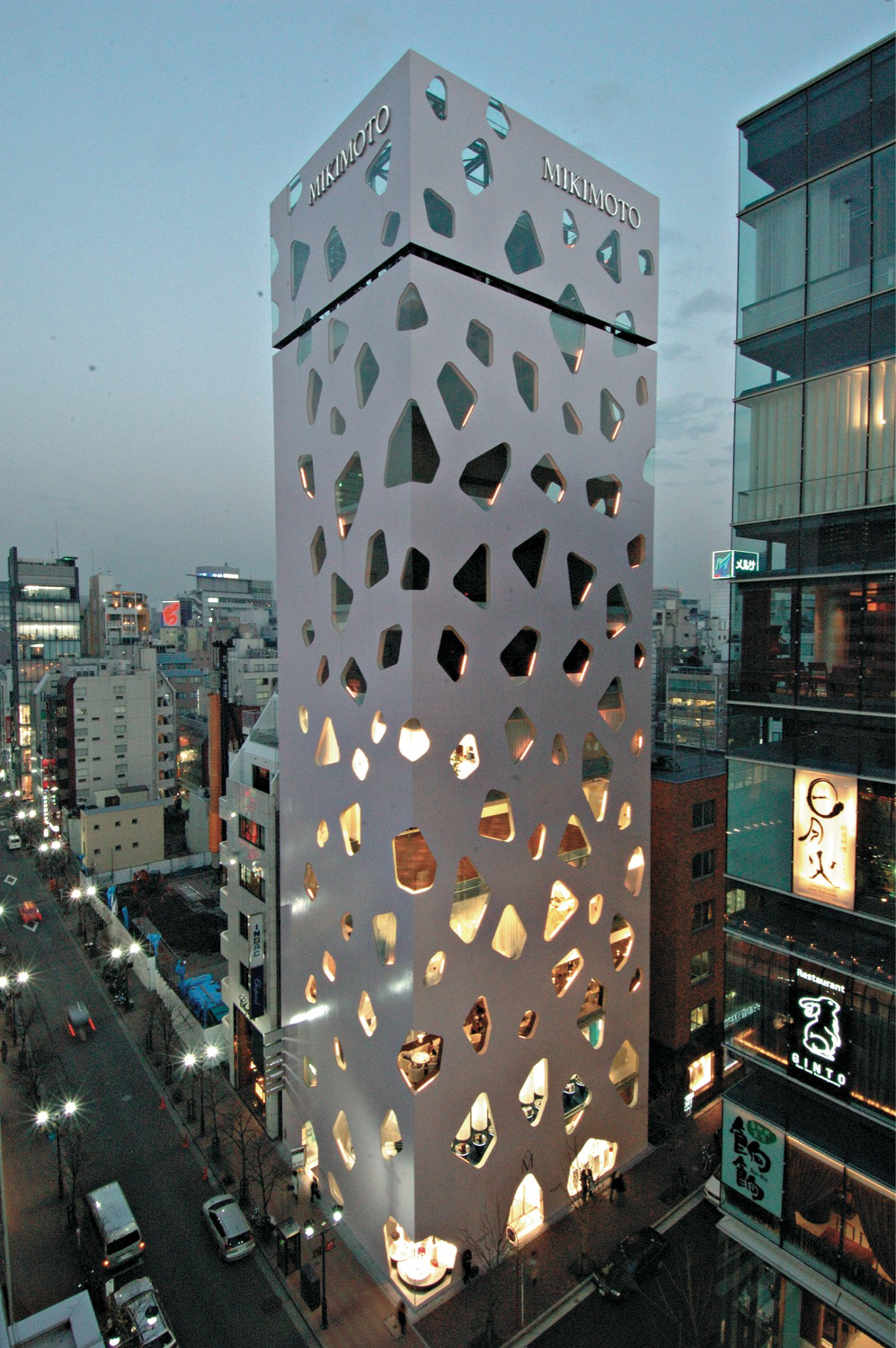 And the pritzker goes to the neat blog for Architecture tokyo
